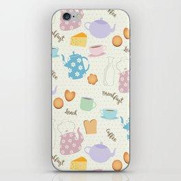 Breakfast Lunch Coffee iPhone Skin