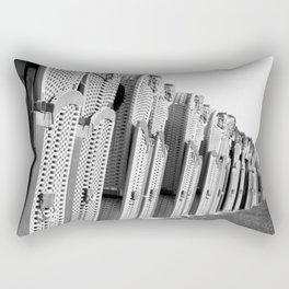 The season can begin Rectangular Pillow