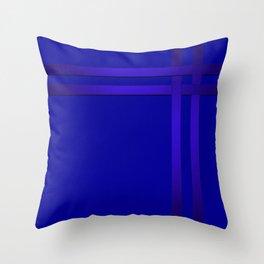Cobalt blue Throw Pillow