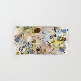 Flourish: Create, Art, Inpspire Hand & Bath Towel