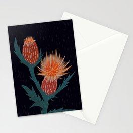 Cirsium Muticum (red) Stationery Cards