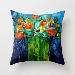 I don't want to be a flower pot! Throw Pillow
