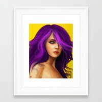 doll Framed Art Prints featuring DOLL by John Aslarona