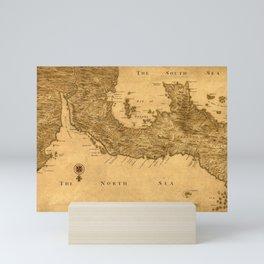 Map Of Panama 1800 Mini Art Print