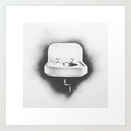 No Running Water Art Print