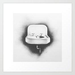 No Running Water Art Print