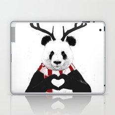 Xmas panda Laptop & iPad Skin