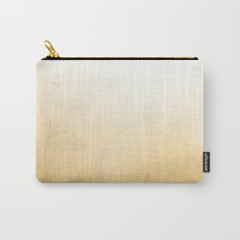 Gold Ombre Carry-All Pouch