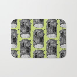 Mysterious Forest Creatures In Tree Log Bath Mat
