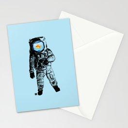 Goldfish Astronaut Stationery Cards