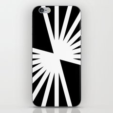 B/W Blast iPhone & iPod Skin