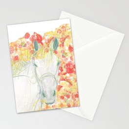 Watercolor Horse Illustration by McKenna Sendall Stationery Cards