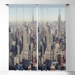 New York City / Aerial Blackout Curtain