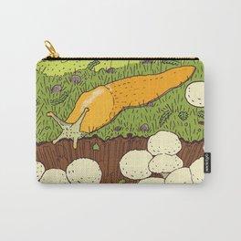 Banana Slug & Mushrooms Carry-All Pouch