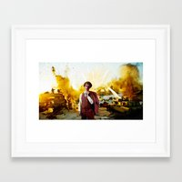 napoleon dynamite Framed Art Prints featuring Action Exsplosions :Napoleon Dynamite by Silo Louis