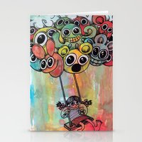 baloon Stationery Cards featuring baloon by Hugo Lucas