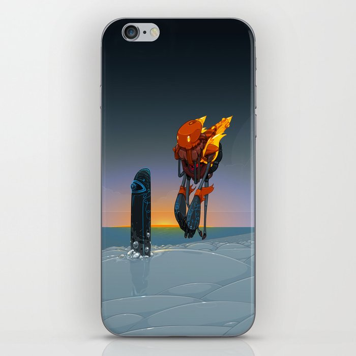 Phobos iPhone Skin