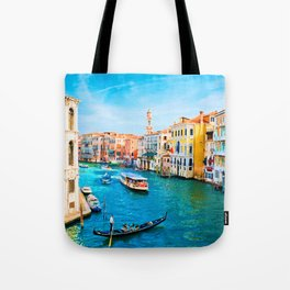 Italy. Venice lazy day Tote Bag