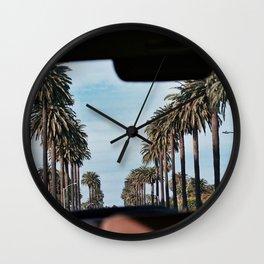 Santa Monica Wall Clock