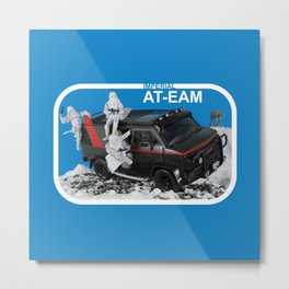 Imperial AT-EAM - Assault Team - Enforcement Action Module Metal Print