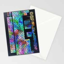 periodic table of elements Stationery Cards