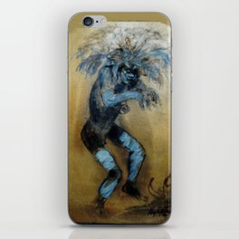 Witch Doctor        by Kay Lipton iPhone Skin