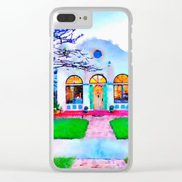 Siesta Key House Clear iPhone Case
