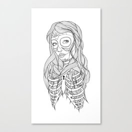 Princess of Death Canvas Print
