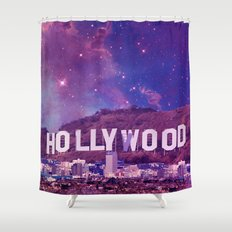 Hipsterland - Los Angeles Shower Curtain