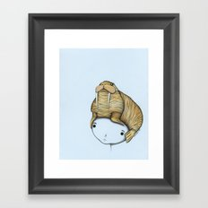 Minor Headache Framed Art Print