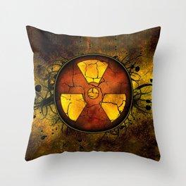 Umbrella of death Throw Pillow