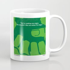 No040 My HULK minimal movie poster Mug