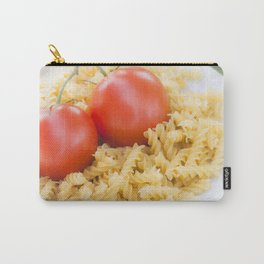 Fusilli pasta with fresh tomato Carry-All Pouch