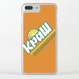 My Russian Crush Clear iPhone Case