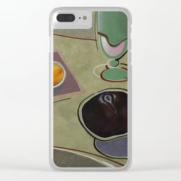 Pink Lemonade with Apricot and Plum Clear iPhone Case