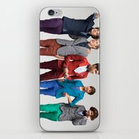 1d iPhone & iPod Skins featuring 1d by Max Jones