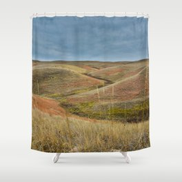 October in Grasslands National Park Shower Curtain