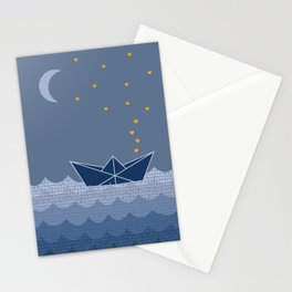 Personalized BOAT print Stationery Cards