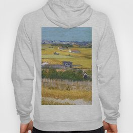 1888-Vincent van Gogh-The harvest-73x92 Hoody
