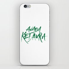 The Killing Curse iPhone & iPod Skin
