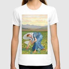 "Walter Crane ""La Primavera (Spring)"" T-shirt"