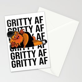 Keep it gritty , grity af made in philadelphia Stationery Cards