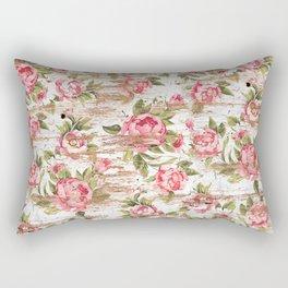 Eco Love Pattern Rectangular Pillow