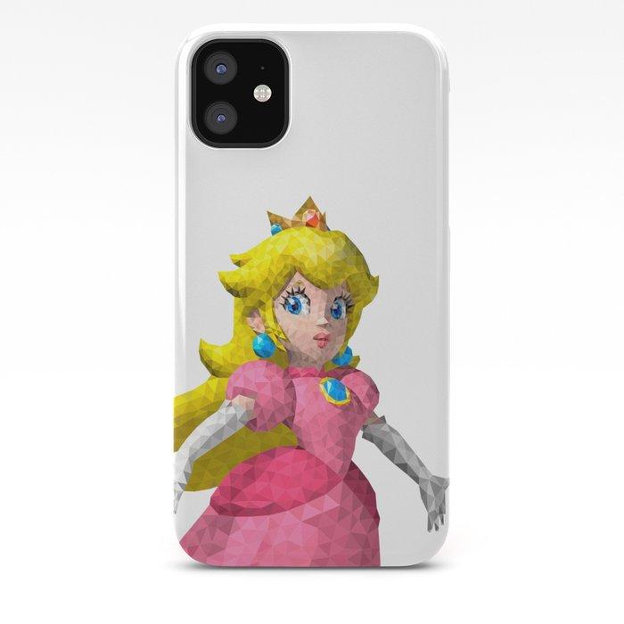 Princess Peach Super Mario Nintendo Illustration Pixel Art Iphone Case By Eightandabit