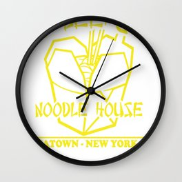 Ho Lee Chit Noodle House Wall Clock