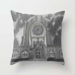 All Saints Chapel Sewanee Throw Pillow