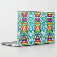 glitch Laptop & iPad Skins featuring glitch by Xenia Pirovskikh