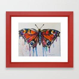 Butterfly (Transformation)  Framed Art Print