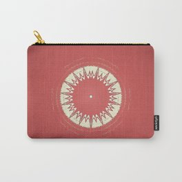 Faded Red Star Carry-All Pouch