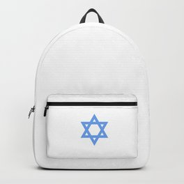 Star Of David Jewish Symbol Hebrew Jew Funny Cool Pun Design Gift Humor Backpack